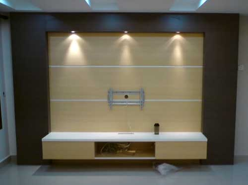 TV Cabinet Design for Terrace House