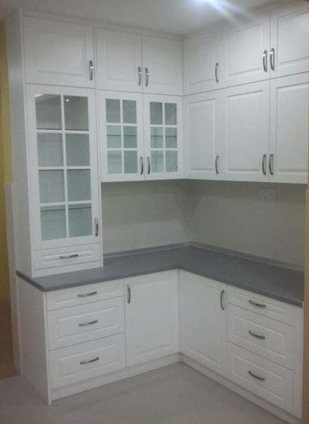 ... Dry Kitchen   L Shaped Kitchen Layout